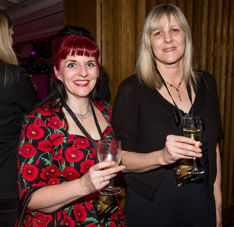 Ruth Cole and Sandra Dearling at the National Apprenticeship Awards