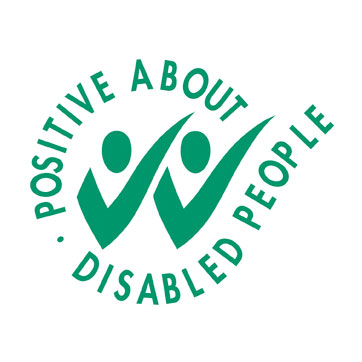 Positive About Disabled Kitemark logo